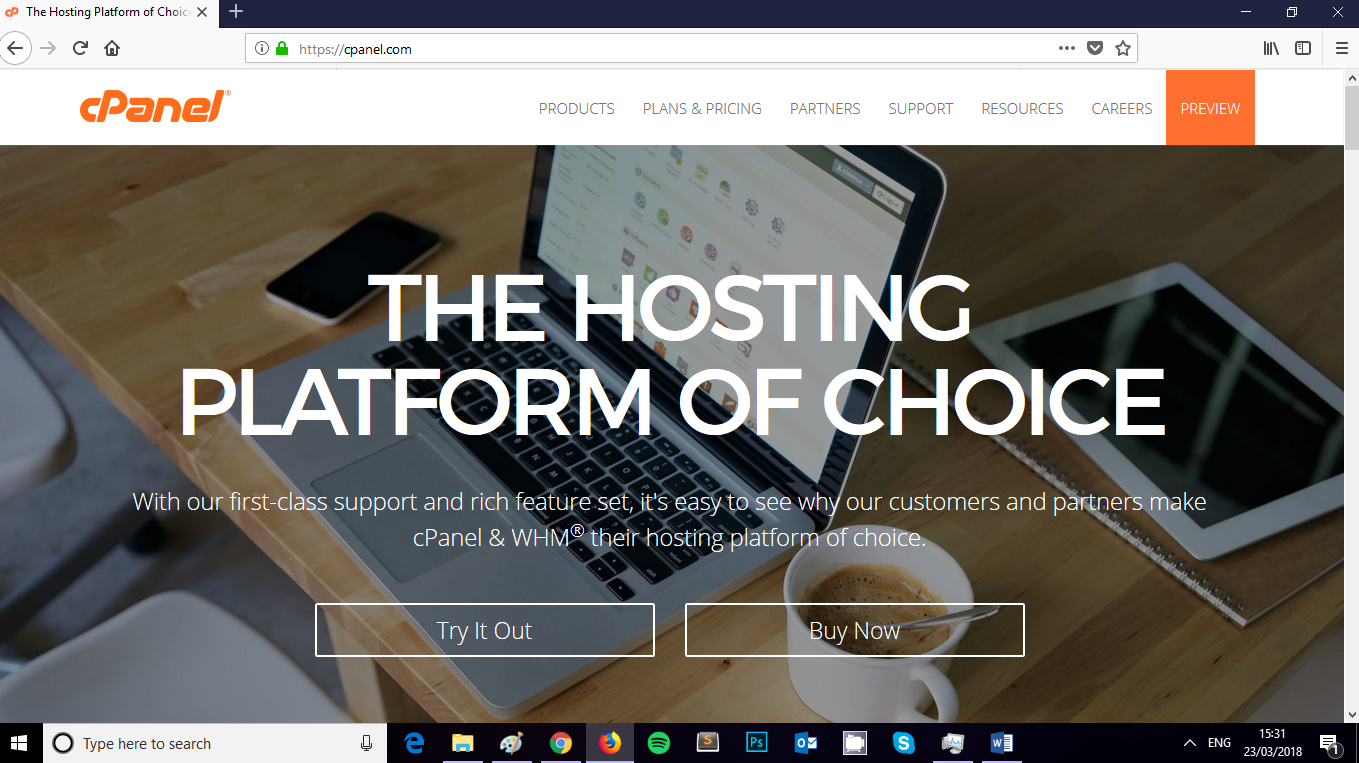 How to build a website - CPanel