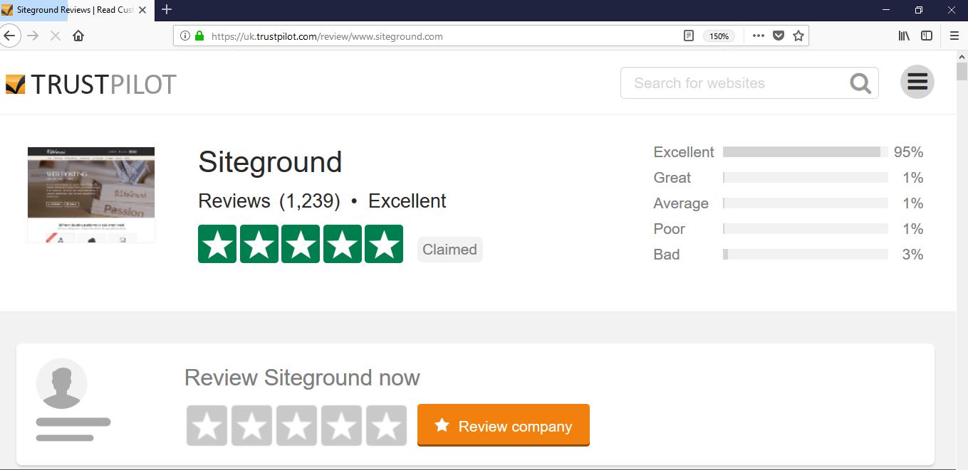How to build a website - Siteground reviews