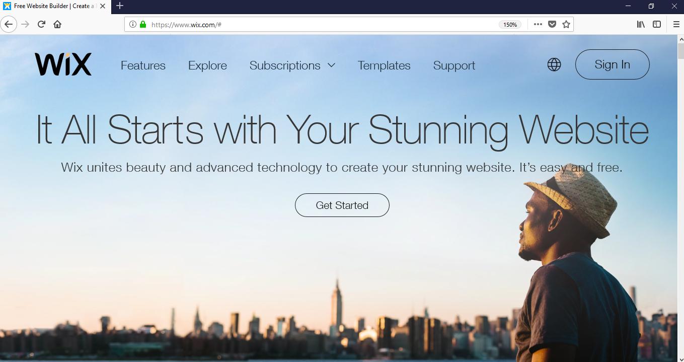 How to build a website - Wix websites