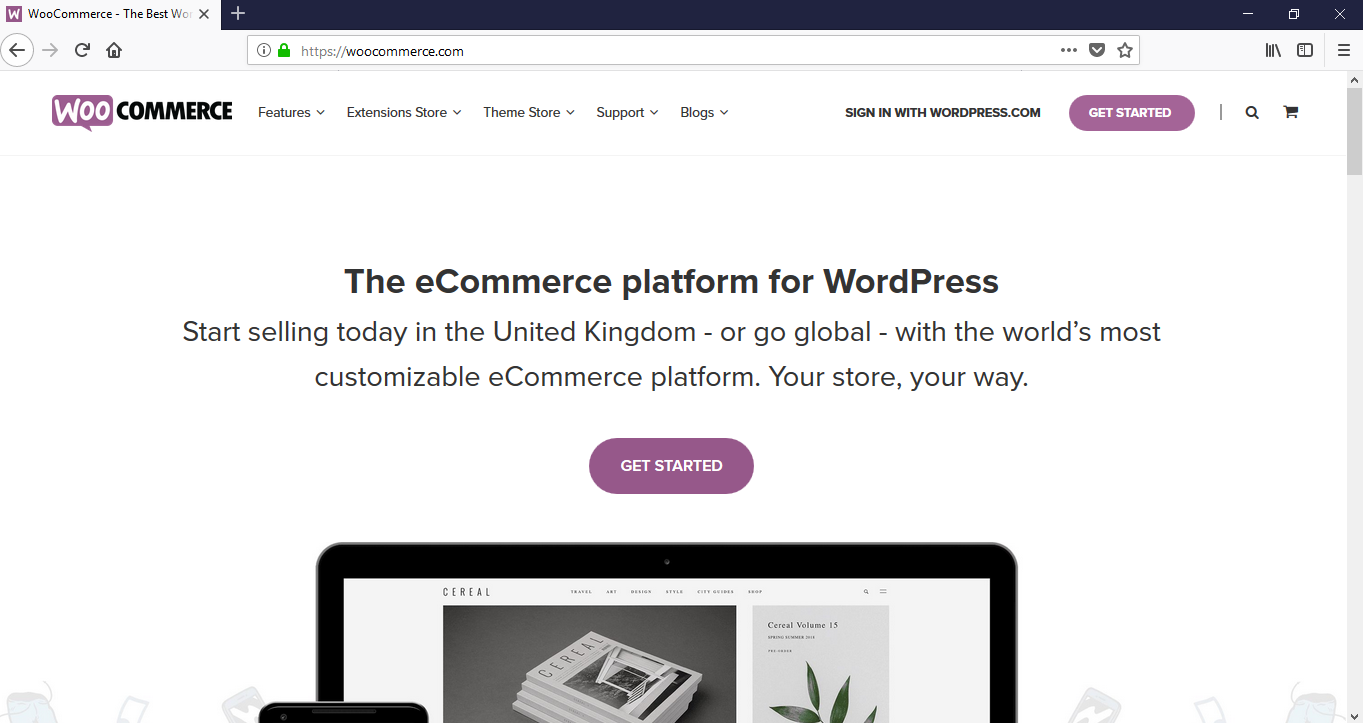 How to build a website - Woocommerce