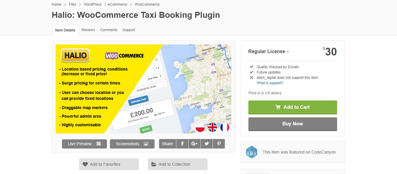 best taxi WordPress plugin