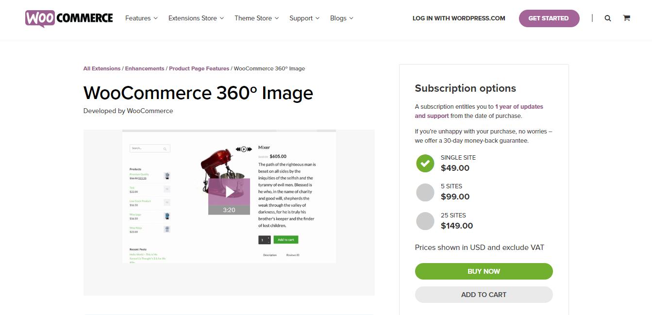 WordPress 360 Viewer